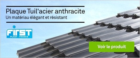 HOP - Plaque tuil'acier - 65094533