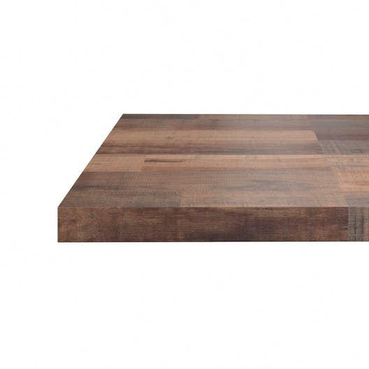 plan snack stratifi effet bois cabane mat x cm mm leroy merlin. Black Bedroom Furniture Sets. Home Design Ideas