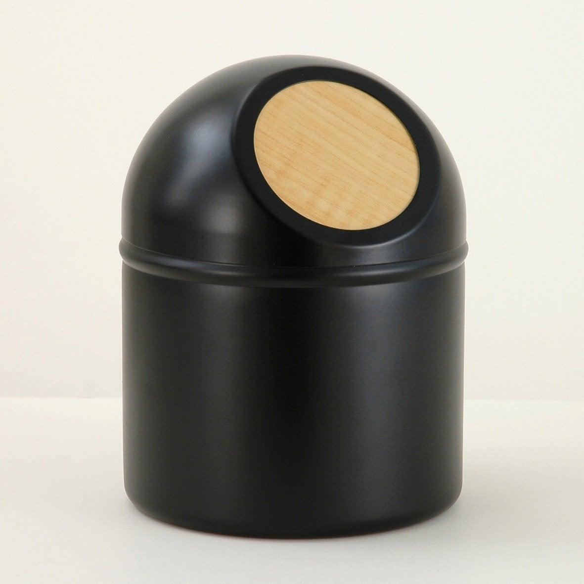 Mini poubelle métal Scandi, black n°0
