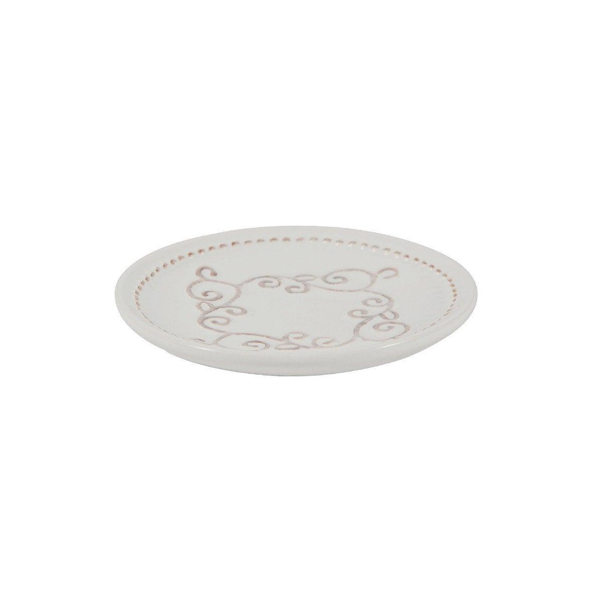 Porte-savon céramique Emmy, blanc