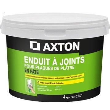 Enduit pour bande à joint pâte blanc AXTON, 4 kg