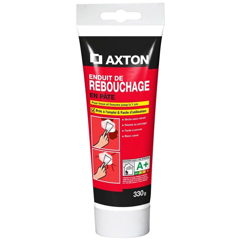 Enduit De Rebouchage Pate Blanc Axton 0 33 Kg