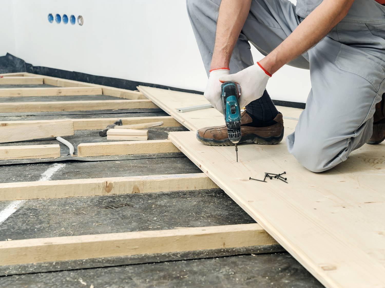 Construire un plancher