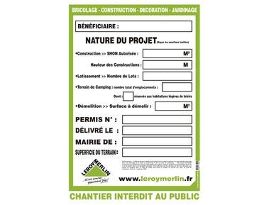 Leroy Merlin Panneau De Chantier
