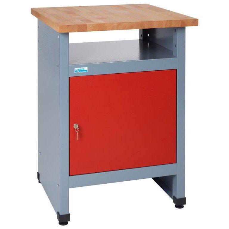 Table D établi De Mécanicien Kupper 60 Cm Rouge 1 Porte