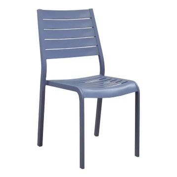 Chaise En Aluminium Sevilla Bleu