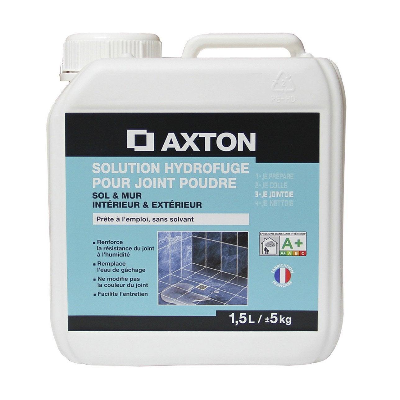 Solution Hydrofuge Tout Type De Carrelage Et Mosaïque AXTON, Incolore, 1,5  L ...
