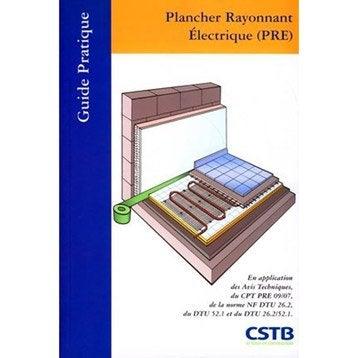 Plancher rayonnant électrique, Cstb
