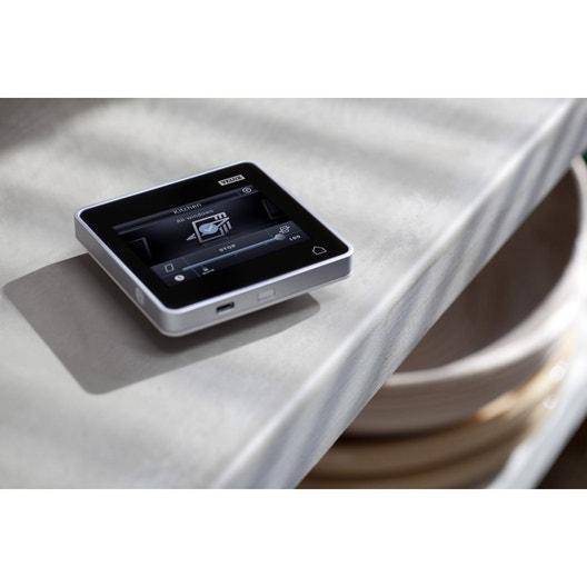 commande tactile pour fen tre de toit integra velux. Black Bedroom Furniture Sets. Home Design Ideas