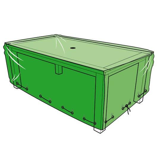 housse de protection pour table x x cm. Black Bedroom Furniture Sets. Home Design Ideas