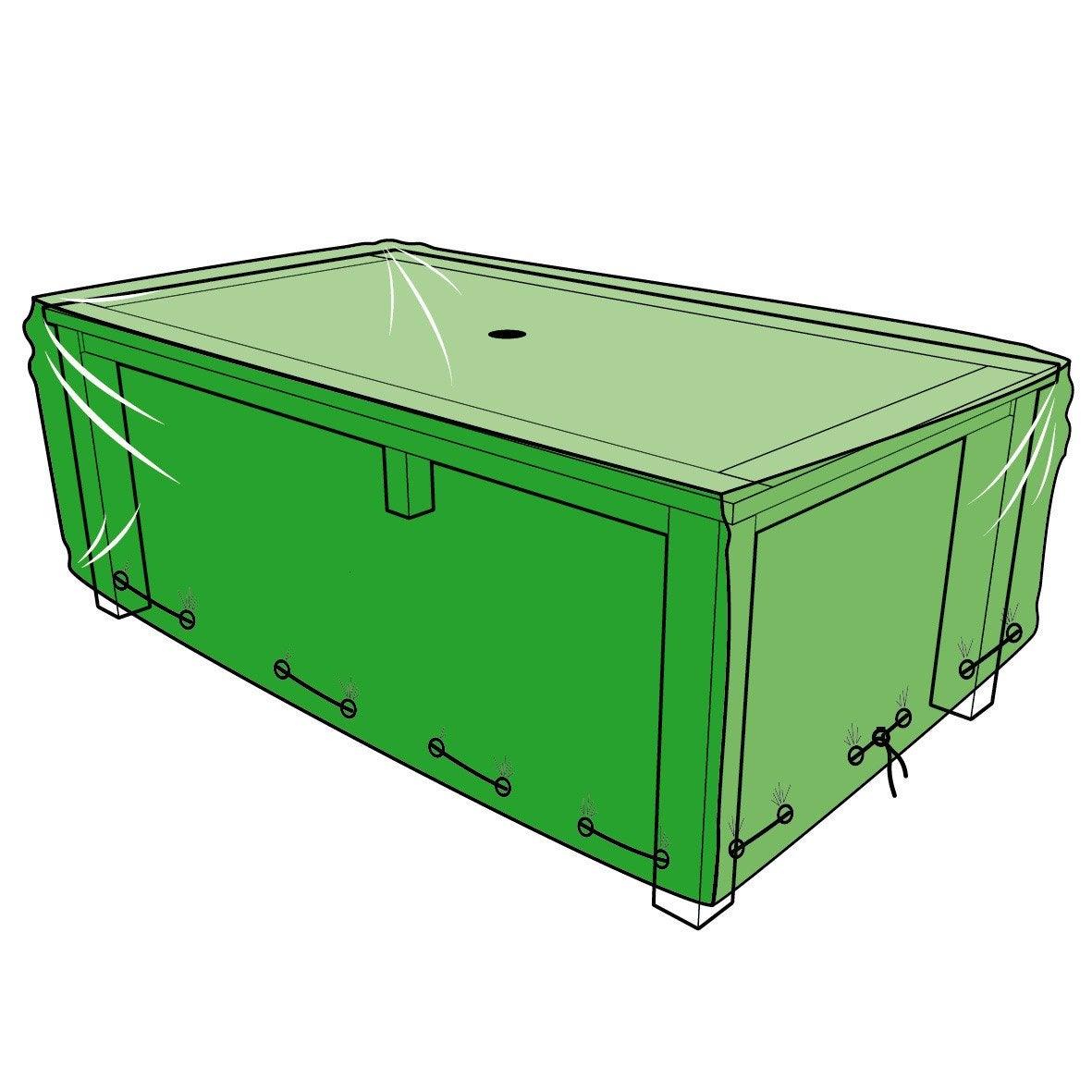 Housse De Protection Pour Table L.180 X L.110 X H.60