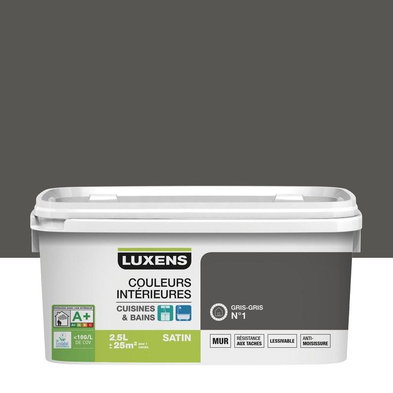 Peinture Couleurs Intérieures Luxens Gris Gris 1 2 5 L