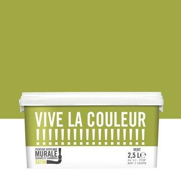 Peinture vert VIVE LA COULEUR! 2.5 l