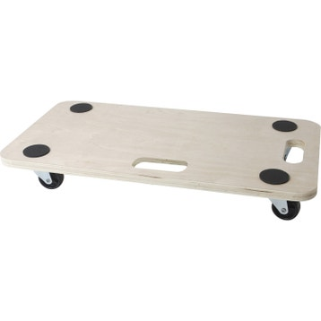 support roulant plateau roulant roulette au meilleur prix leroy merlin. Black Bedroom Furniture Sets. Home Design Ideas