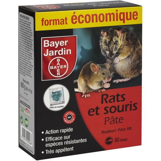 recharge antirats et souris bayer 800 g leroy merlin. Black Bedroom Furniture Sets. Home Design Ideas