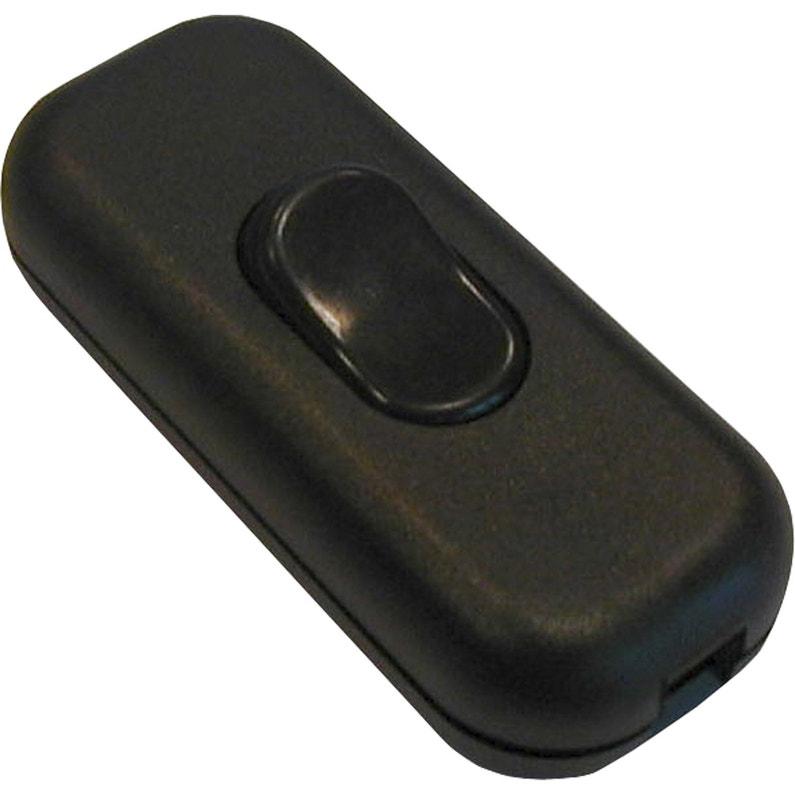 Interrupteur Unipolaire Tibelec Plastique Noir Leroy Merlin