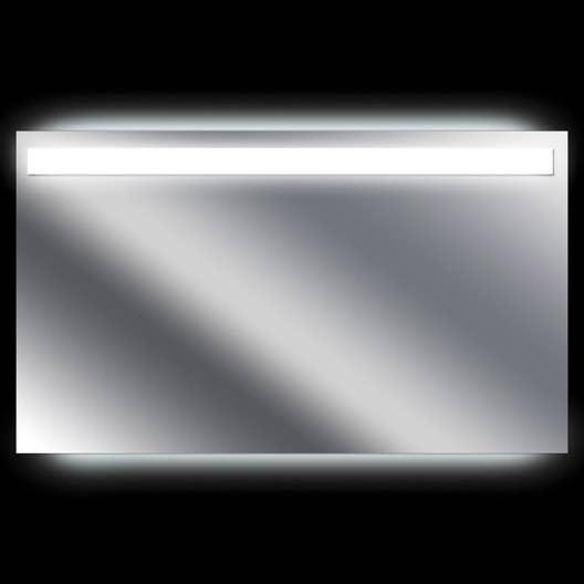 Lambris Bois Hydrofuge Salle De Bain ~ Miroir Lumineux Avec Clairage Int Gr L 120 X H 70 Cm Terzo