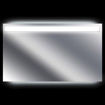 Miroir lumineux de salle de bains miroir de salle de - Miroir eclaire salle de bain ...