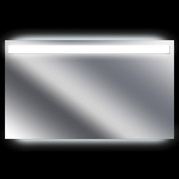 Miroir lumineux avec éclairage intégré, l.120 x H.70 cm Terzo
