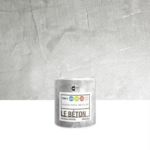 Peinture effet le b ton maison deco m tallis 0 5 l for Peinture aspect beton