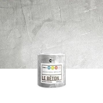 Peinture à effet, Le béton MAISON DECO, métallisé, 0.5 l