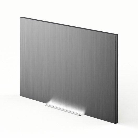 Porte sur hotte de cuisine d cor aluminium f60 42 stil for Porte cuisine aluminium
