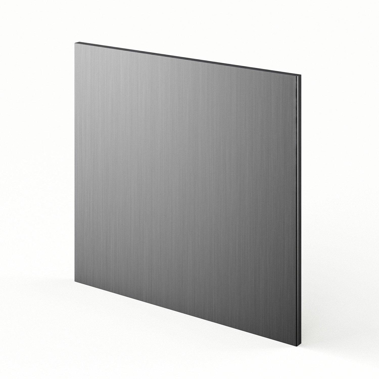 porte lave vaisselle de cuisine d cor aluminium stil x cm leroy merlin. Black Bedroom Furniture Sets. Home Design Ideas