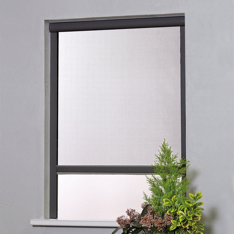 Moustiquaire Pour Fenêtre H100 X L80 Cm Leroy Merlin