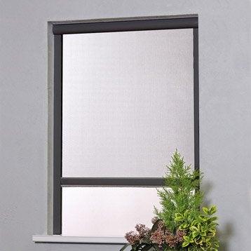 Moustiquaire pour fenêtre H.160 x l.125 cm