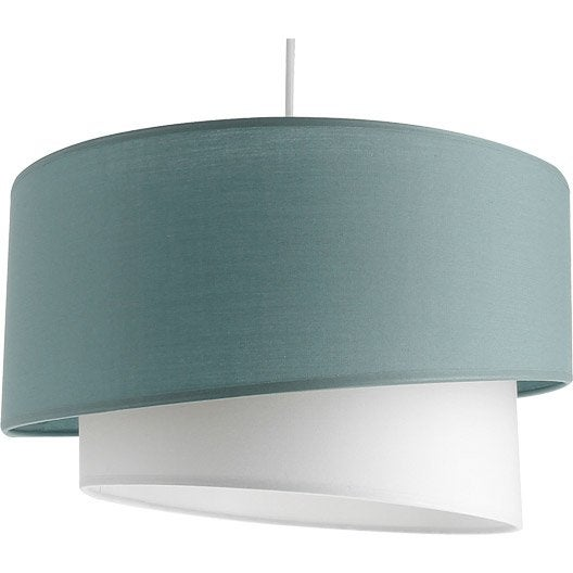 suspension e27 moderne ionos coton bleu baltique n 3 1 x 60 w metropolight leroy merlin. Black Bedroom Furniture Sets. Home Design Ideas