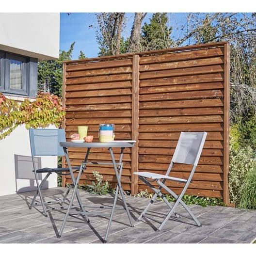 panneau barri re palissade claustra panneau bois. Black Bedroom Furniture Sets. Home Design Ideas
