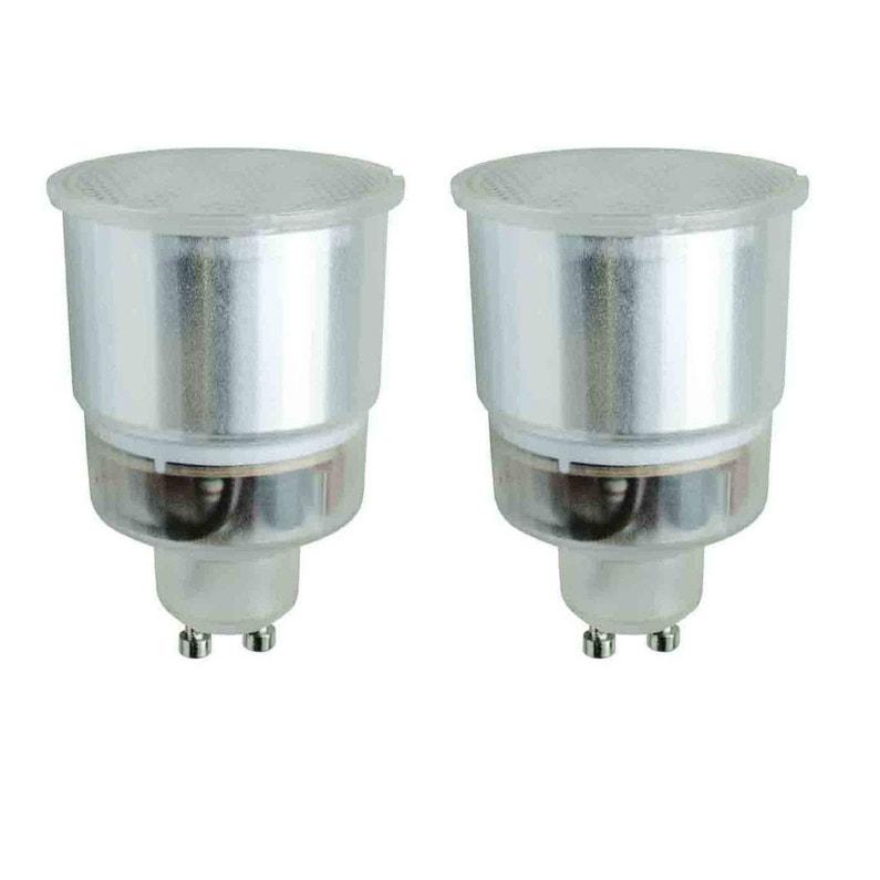 Ampoule Reflecteur Fluorescente 9w 180lm Equiv 29w Gu10 2700k