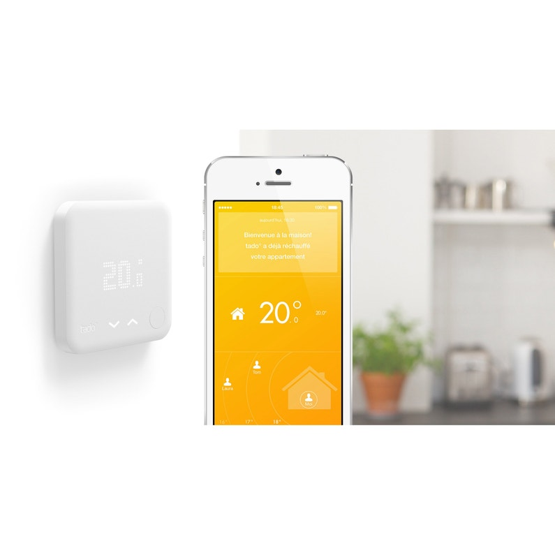 Tado Thermostat Connecté Intelligent Chauffage