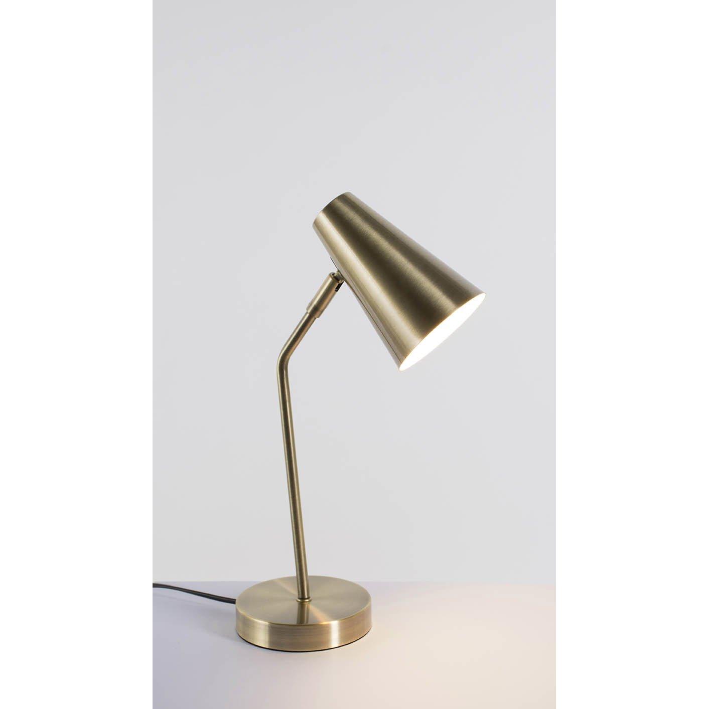 Lampe, chic, métal laiton, COREP Charlie