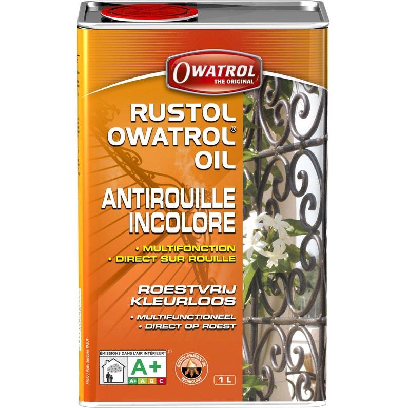 Protection Antirouille Extérieur Intérieur Rustol Owatrol Incolore 1 L