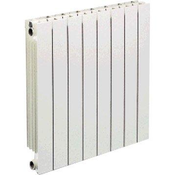 Radiateur chauffage central Vip 10 éléments blanc, l.80 cm, 1430 W