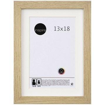 Cadre Lario, 13 x 18 cm, chêne clair