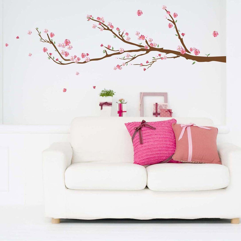 sticker cerisier 50 cm x 70 cm leroy merlin. Black Bedroom Furniture Sets. Home Design Ideas