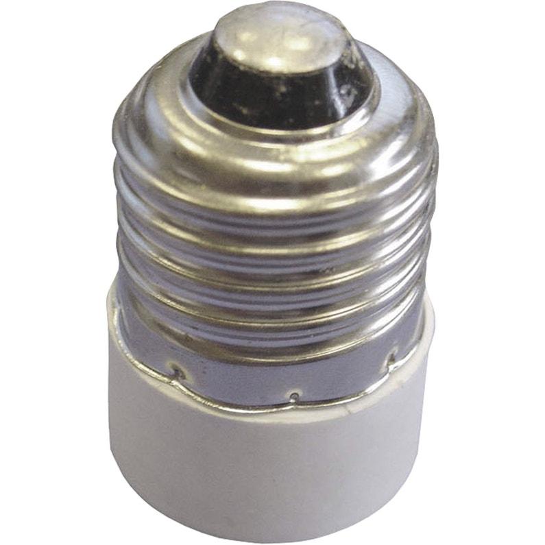 Transformateur De Douille E14 Tibelec Plastique Blanc 100 W