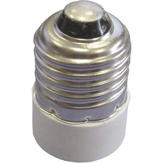 Transformateur de douille E14 TIBELEC, plastique, blanc 100 W