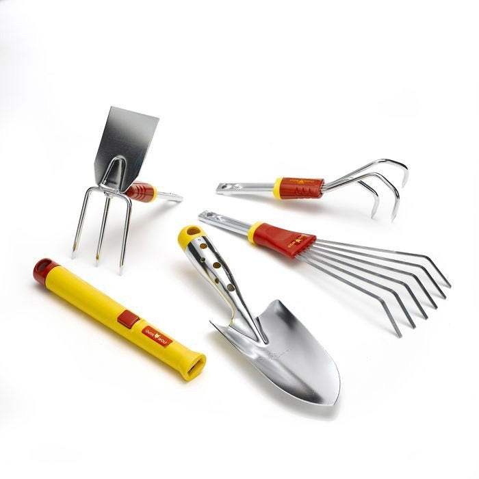 Lot petits outils acier outils wolf bt51 leroy merlin for Outil jardinage