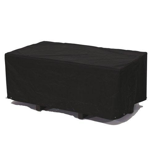 housse de protection pour table dcb garden x x cm leroy merlin. Black Bedroom Furniture Sets. Home Design Ideas