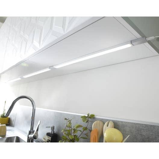 Réglette  fixer plate led intégrée 35 cm Rio INSPIRE 3 5 W gris