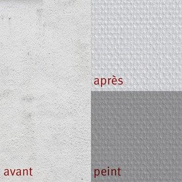 Fibre de verre et rev tement mural leroy merlin - Coller toile de verre sur papier peint ...