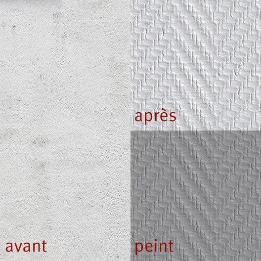 Fibre de verre chevron 190 g m leroy merlin - Peindre fibre de verre ...