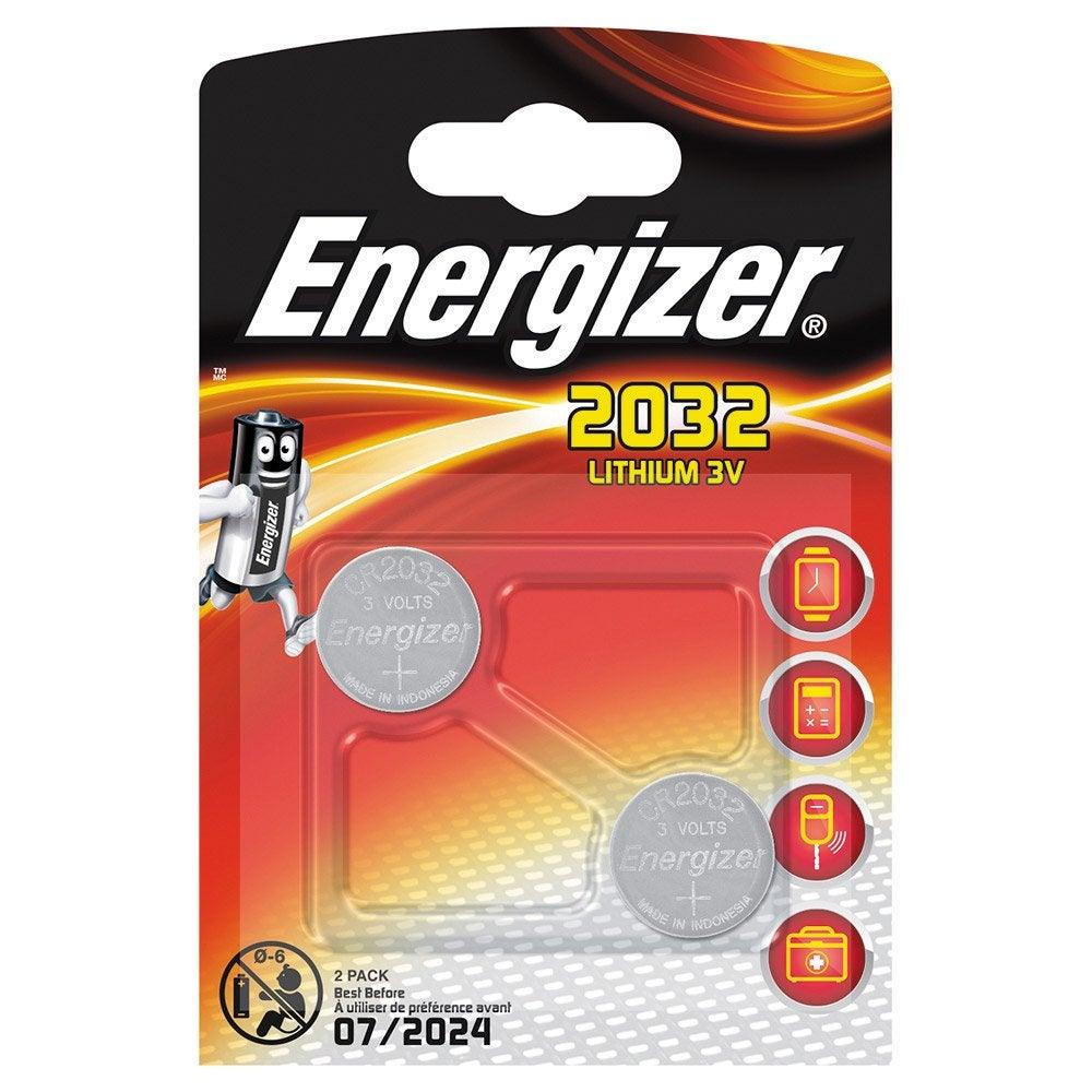 2 Piles Lot Cr2032dl20323 Energizer Lithium De V 5RLA4j