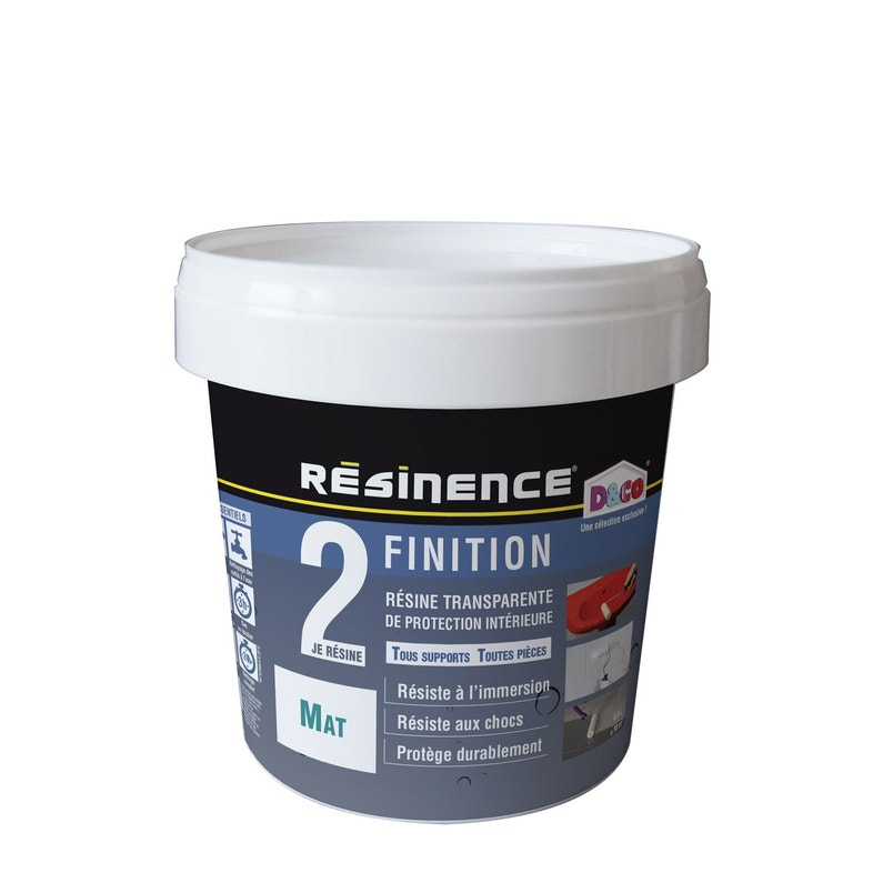 Résine De Finition Protecteur Resinence Incolore 05 L