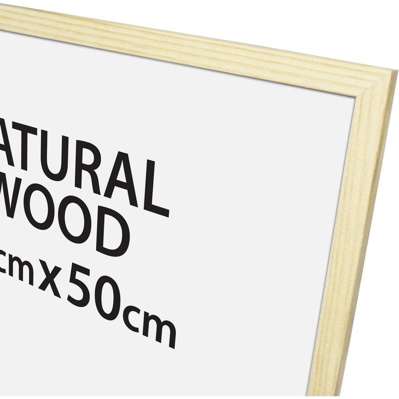 Cadre Bois Brut 40 X 50 Cm Naturel