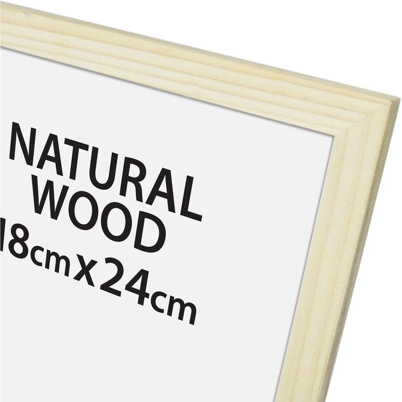 Cadre Bois Brut 18 X 24 Cm Naturel