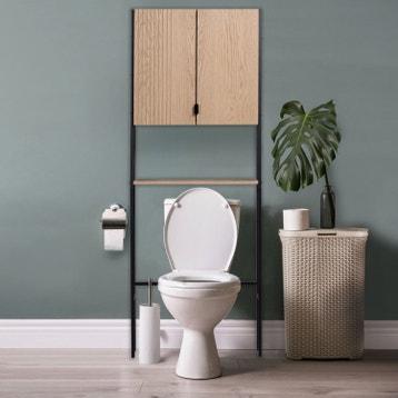 Meuble Coffrage Et Rangement Wc Meuble Toilette Leroy Merlin